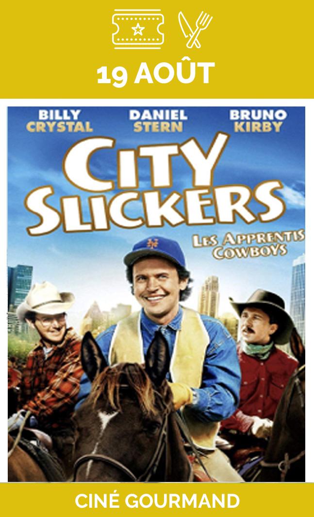 19 août | City Slickers - Soirée gourmande